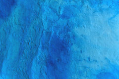 Grunge blue painted wall texture Royalty Free Stock Photography