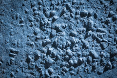 Grunge blue painted wall Royalty Free Stock Photography