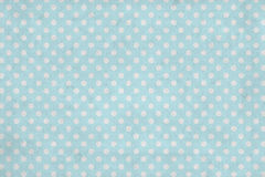 Grunge blue polka dot wallpaper Royalty Free Stock Photo