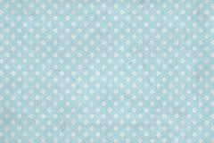 Grunge blue polka dot wallpaper Royalty Free Stock Photo