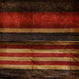 Grunge blue and red stripe patter Stock Photos