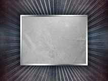 Grunge blue and silver luxury background Royalty Free Stock Image