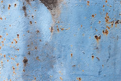 Grunge blue steel wall Royalty Free Stock Images