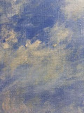 Grunge blue textured abstract hand painted background Royalty Free Stock Images