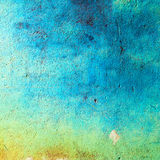 Grunge blue wall Royalty Free Stock Images