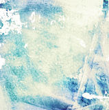 Grunge blue and yellow color background Stock Images