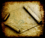 Grunge blueprints Royalty Free Stock Photo
