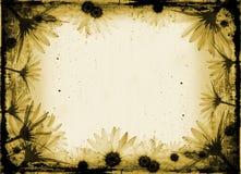 Grunge Blumen Lizenzfreies Stockbild