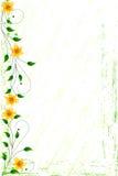 Grunge Blumenhintergrund Lizenzfreies Stockbild