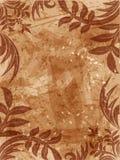 Grunge Blumenhintergrund Stockfoto
