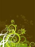 Grunge Blumenhintergrund Stockbild