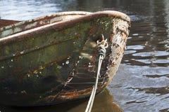 Grunge boat Stock Image