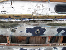 Grunge Boat Repair Stock Photos