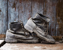Grunge boot Royalty Free Stock Images