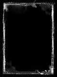Grunge border. Computer designed grunge border over black Stock Images