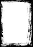 Grunge Border. Hi resolution image of Grunge Black and White border on a white background Royalty Free Stock Photo