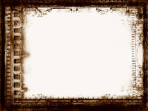 Grunge border. Computer designed highly detailed grunge film frame with space for your text or image. Great grunge element for your projects Royalty Free Stock Image