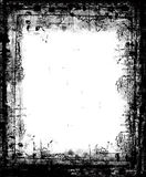 Grunge border. Computer designed highly detailed grunge border with space for your text or image. Great grunge element or layer for your projects Royalty Free Stock Photos