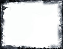 Grunge border. Computer designed highly detailed grunge border , great grunge layer for your projects Stock Images