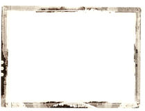 Grunge border. Computer designed highly detailed grunge border with space for your text or image. Great grunge layer for your projects Royalty Free Stock Photography