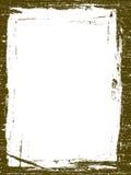 Grunge Border. On a white background Royalty Free Stock Photo