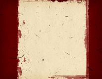 Grunge border. Computer designed highly detailed grunge border and aged paper background with space for your text or image. Great grunge layer for your projects Royalty Free Stock Images