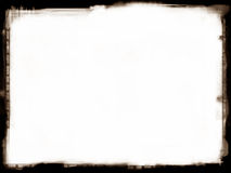 Grunge border. Computer designed highly detailed grunge border. Great grunge layer for your projects Royalty Free Stock Photography