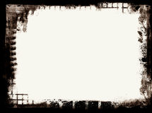 Grunge border. Computer designed highly detailed grunge border with space for your text or image. Nice grunge element for your projects Royalty Free Stock Images