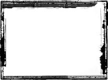 Grunge border. Computer designed highly detailed grunge border with space for your text or image. Great grunge layer for your projects Stock Photo