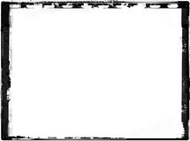 Grunge border. Computer designed highly detailed grunge border with space for your text or image. Great grunge layer for your projects Stock Images
