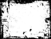 Grunge border. Grunge style border - lots of detail Royalty Free Stock Image