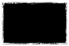 Grunge border. Digitally created detailed grunge border Stock Photos