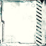 Grunge border royalty free illustration