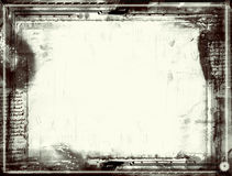 Grunge border. Computer designed highly detailed grunge border with space for your text or image. Great grunge layer for your projects Royalty Free Stock Image