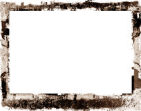 Grunge border. Computer designed highly detailed grunge border with space for your text or image. Great grunge layer for your projects Royalty Free Stock Photo