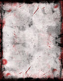 Grunge border. Vintage black border and grunge background Stock Image