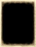 Grunge border. Over black stock illustration