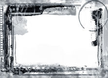 Grunge border. Computer designed highly detailed grunge border with space for your text or image. Great grunge layer for your projects stock illustration