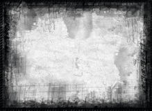 Grunge border and  background Stock Images