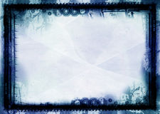 Grunge border and background Royalty Free Stock Photos