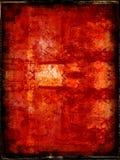 Grunge border and background Stock Image