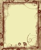 Grunge border and background Stock Photo