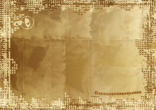 Grunge border and background Royalty Free Stock Photo