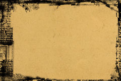 Grunge border and background Royalty Free Stock Photography