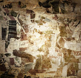 Grunge border torn paper background Royalty Free Stock Photos
