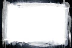 Grunge border on white Stock Image