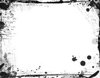 Grunge border for your images Stock Photography