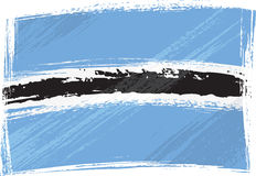 Grunge Botswana flag Stock Photos