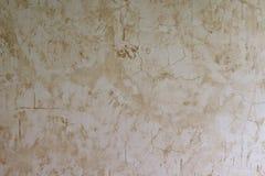 Grunge branco e marrom da textura da parede do pavimento Fotografia de Stock