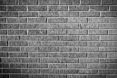 Grunge brick wall texture, black and white version Royalty Free Stock Photos